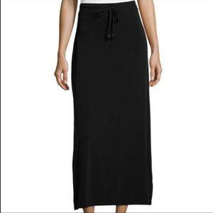Michael Kors drawstring maxi skirt